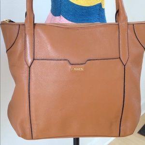d32b58a70 Lodis Bags | Kiera Leather Tote | Poshmark